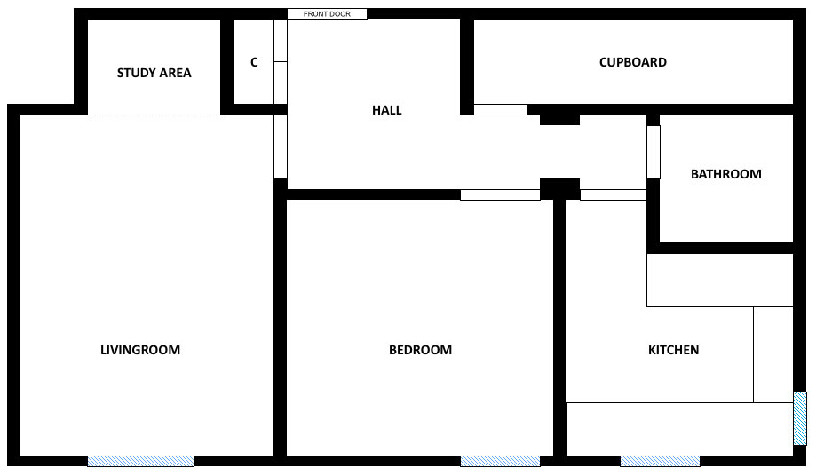 Floor Plan And Walkthrough Rent This 1 Bedroom Flat In Glasgow